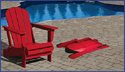 Leisure Line Furniture Is Made From Recycled High Density Polyethylene.  Colour Is Right Through The Plastic. UV Stabilized To Resist Fading.