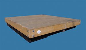 classic cedar swim raft 2